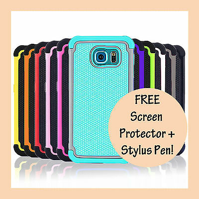 AU5.95 • Buy Heavy Duty Shockproof Case Shock Proof Armor Cover For Samsung Galaxy S7 S7 Edge