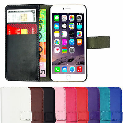 AU9.75 • Buy Leather Flip Case Wallet Magnetic Stand Cover For Apple IPhone 7 Plus 8 10 X