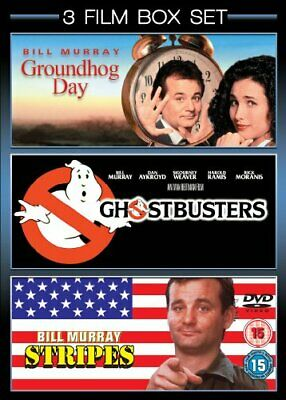 £3.49 • Buy Groundhog Day/Ghostbusters/Stripes [DVD] - DVD  WEVG The Cheap Fast Free Post