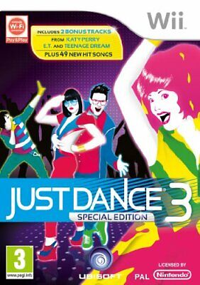 Just Dance 3 (Special Edition) (Wii) - Game  ESVG The Cheap Fast Free Post • 8.62£