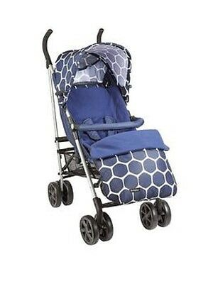 Ladybird Stroller With Footmuff, Liner And Raincover, Blue RRP-£89 • 59.99£