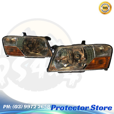 AU233.10 • Buy Set Of Head Lights Left & Right To Suit A Mitsubishi Pajero NM NP 2002-2006 Head
