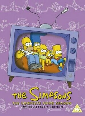 The Simpsons: Complete Season 3 [DVD] - DVD  6JVG The Cheap Fast Free Post • 3.49£