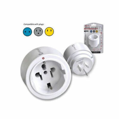 AU13 • Buy Sansai Travel Adaptor/Adapter Europe/Asia/USA To AU/NZ Power Plug/Outlet White