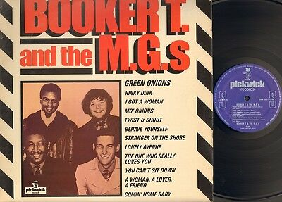 BOOKER T & And The MG's Same LP NMINT 1966-1980 UK Twist & Shout GREEN ONIONS  • 6.45£