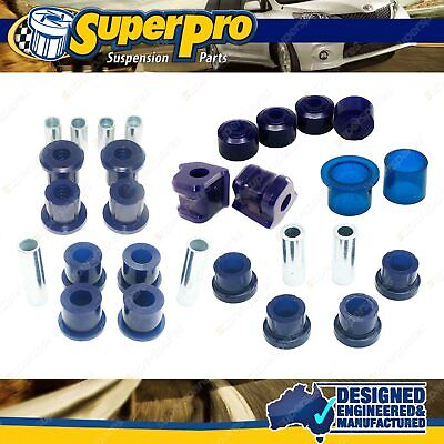 AU281.19 • Buy Front Superpro Suspension Bush Kit For MITSUBISHI PAJERO NH NJ NK NL - 1991-2000