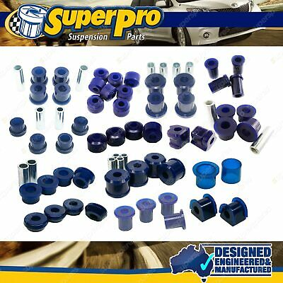 AU628.79 • Buy F+R Superpro Suspension Bush Kit For MITSUBISHI PAJERO NH NJ NK NL - 1991-2000