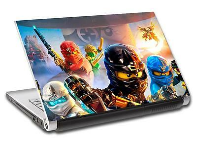 Lego Ninjago Personalized LAPTOP Skin Vinyl Decal Sticker WITH NAME L132 • 11.99£