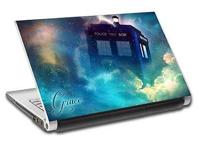 £11.99 • Buy Tardis Dr. Who Personalized LAPTOP Skin Vinyl Decal Sticker WITH NAME L150