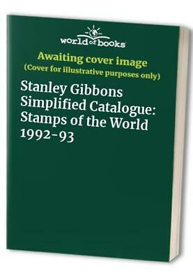 £14.99 • Buy Stanley Gibbons Simplified Catalogue: Stamps Of The World 1992-93 Paperback Book