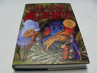 Cube Route - Xanth - Piers Anthony - 2003 - 1st Edition - Hardback Book! • 7.49$