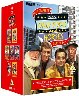 Only Fools And Horses - The Complete Series 1-7 [DVD] [1981] - DVD  SSVG The • 15.97£