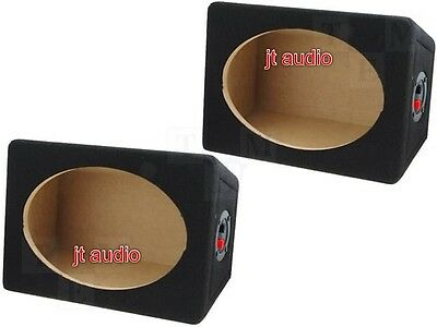 £34.99 • Buy Car Radio Stereo Speaker Mdf Boxes Enclosures 6 X 9 Inches 6x9  Inch Boxes Pair