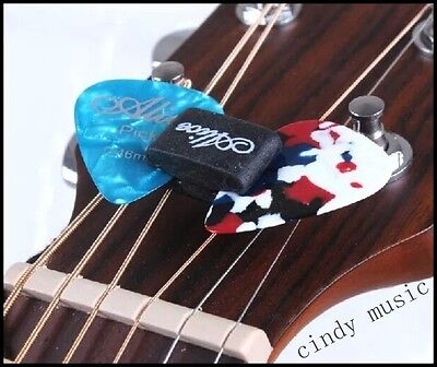 AU3.98 • Buy 1 Guitar Pick Holder + 2 FREE Guitars Picks NEW