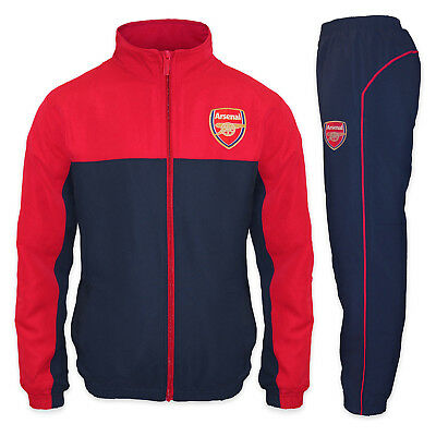 Arsenal FC Official Football Gift Boys Jacket & Pants Tracksuit Set • 39.99£