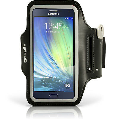 Running Fitness Sports Armband For Samsung Galaxy A5 SM-A500 Gym Cover Jogging • 3.99£