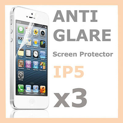 AU1.09 • Buy 3 X Anti Glare Matte Screen Protector LCD Film Cover For Apple IPhone 5 5S 5C SE