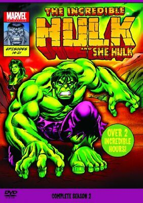 The Incredible Hulk 1996 Complete Season 2 [DVD] - DVD  Y8VG The Cheap Fast Free • 4.22£