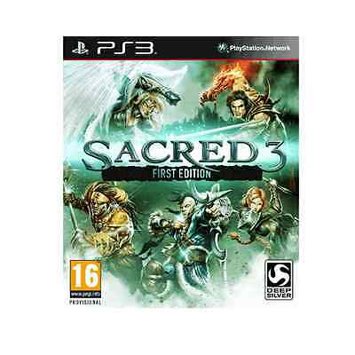 AU69.92 • Buy Sacred 3: First Edition [PlayStation 3 PS3, Region Free, Fantasy Action RPG] NEW