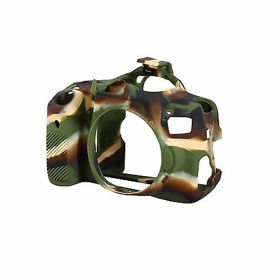 EasyCover Silicone Skin Soft Case Cover Canon 650D/700D/Rebel T4i In Camouflage • 27.95£