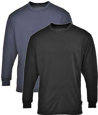 Portwest Thermal Base-layer Moisture Wicking Long Sleeved Top #B133 • 10.95£