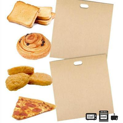 1Pc Reusable Toaster Bags Non-Stick Oven Grill Panini Pizza Sandwich Bags -8C • 1.85£