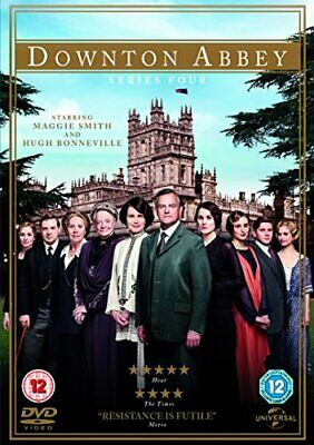 Downton Abbey - Series 4 [DVD] [2013] - DVD  1UVG The Cheap Fast Free Post • 4.32£