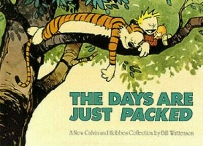 The Days Are Just Packed: Calvin & Hobbes Series... By Watterson, Bill Paperback • 5.49£