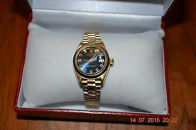 AU11500 • Buy Rolex Gold Oyster Perpetual Lady Datejust ** Minimal Use ** Huge Discount