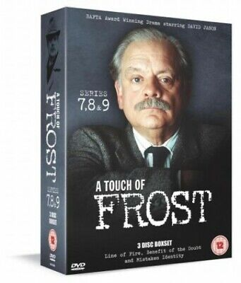 £4.87 • Buy A Touch Of Frost: Series 7, 8 And 9 [DVD] - DVD  5QVG The Cheap Fast Free Post