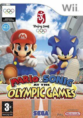 Mario & Sonic At The Olympic Games (Wii) - Game  YUVG The Cheap Fast Free Post • 7.46£