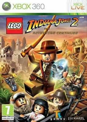 £8.13 • Buy LEGO Indiana Jones 2: The Adventure Continues (Xbox 360) - Game  S8VG The Cheap