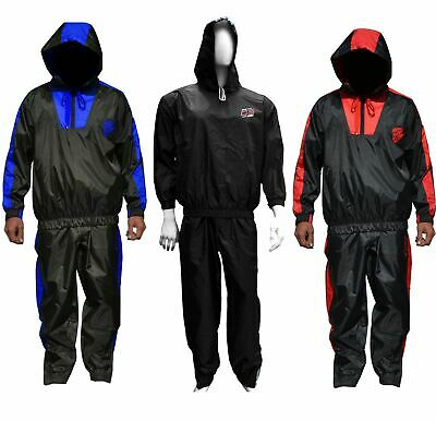 AU44.49 • Buy AQF Heavy Duty Sauna Sweat Suit Track Suit Weight Loss Slimming Boxing Gym Fat