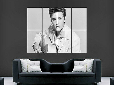 Elvis Presley Poster Music Legend  Giant Wall Art Picture Print Large Huge • 17.99£