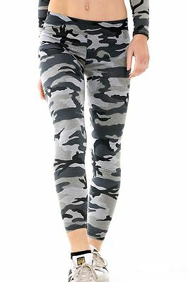 £5.99 • Buy New Women Camouflage Army Print Full Ankle Length Stretchy SlimFit Leggings Pant