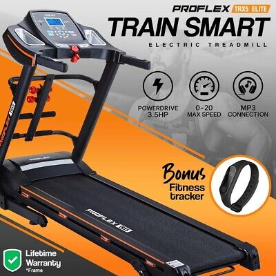 AU829 • Buy PRESALE Electric Treadmill W/ Fitness Tracker Home Gym Exercise Equipment