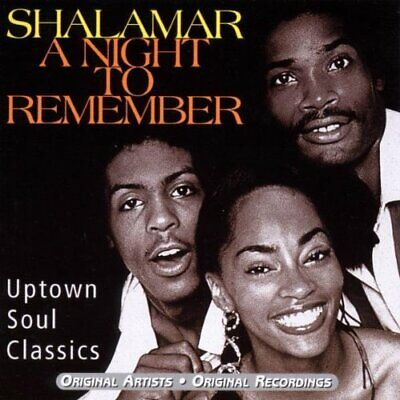 £3.49 • Buy A Night To Remember - Shalamar CD 10VG The Cheap Fast Free Post The Cheap Fast