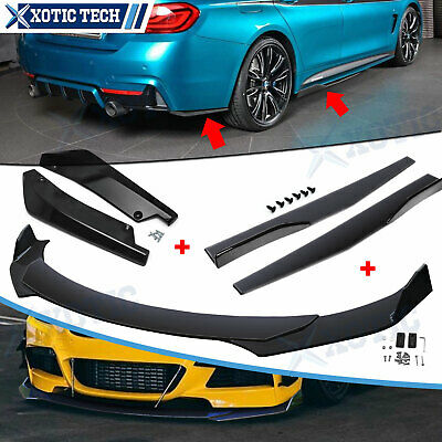 $169.93 • Buy Front Bumper Spoiler Diffuser Side Skirt Rear Lip Molding Body Kit Universal 7x
