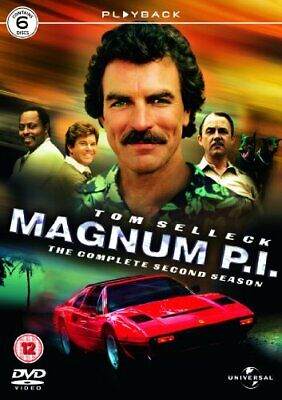 Tom Selleck - Magnum PI - Series 2 [DVD] - DVD  F6VG The Cheap Fast Free Post • 29.03£