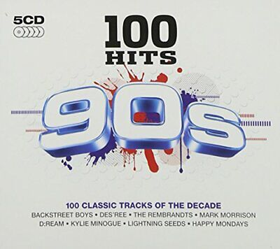 £3.49 • Buy Various Artists - 100 Hits: 90s - Various Artists CD SCVG The Cheap Fast Free