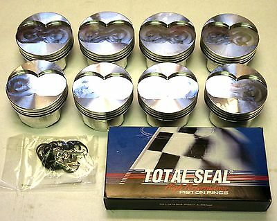 AU989.17 • Buy Oldsmobile 455 , 40 Over, Gsx Forged Pistons (4.165 Bore) And Ring Set