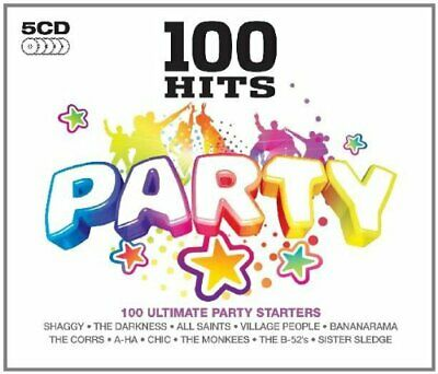 Various Artists - 100 Hits - Party - Various Artists CD IMVG The Cheap Fast Free • 4.07£