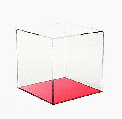 £24.49 • Buy Acrylic Display Cube Perspex Trophy Display Case Transparent 5 Sided Box