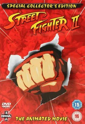 £15.49 • Buy Street Fighter 2 - The Animated Movie [1994] [DVD] - DVD  MYVG The Cheap Fast