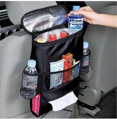 $15.46 • Buy US AUTO Accessories Car Seat Back Multi-Pocket Insulation Storage Bag Organizer