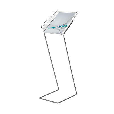 Leaflet Display Stand A4 Free Standing Brochure Holder Stand  • 32.50£