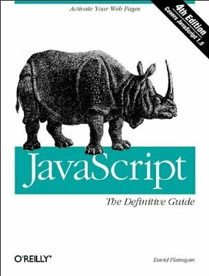 JavaScript: The Definitive Guide (Definitive Guid... By David Flanagan Paperback • 5.49£