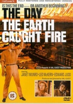 £4.71 • Buy The Day The Earth Caught Fire [1961] [DVD] - DVD  VVVG The Cheap Fast Free Post