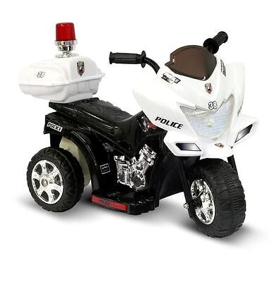Electric Cars For Kids To Ride On Toys Police Riding Motorcycle Trike 6v Battery 71 95