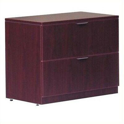 $564.47 • Buy Offices To Go 2 Drawer Lateral Wood File With Lock In Mahogany Finish
